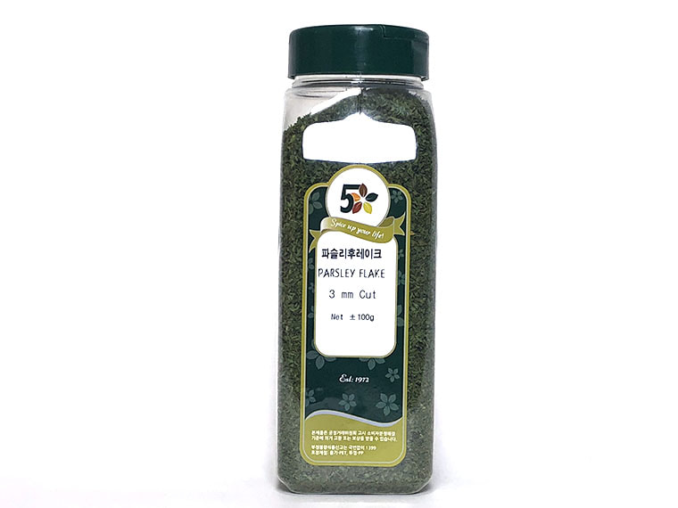 파슬리 후레이크 (3mm 컷) 100g / Parsley Flakes (3mm cut) 100g