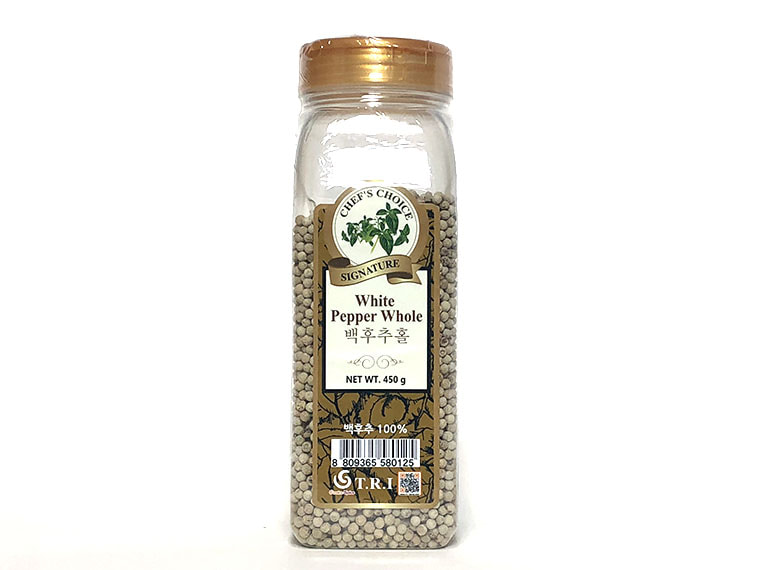 통 백후추 450g / White Peppercorns 450g